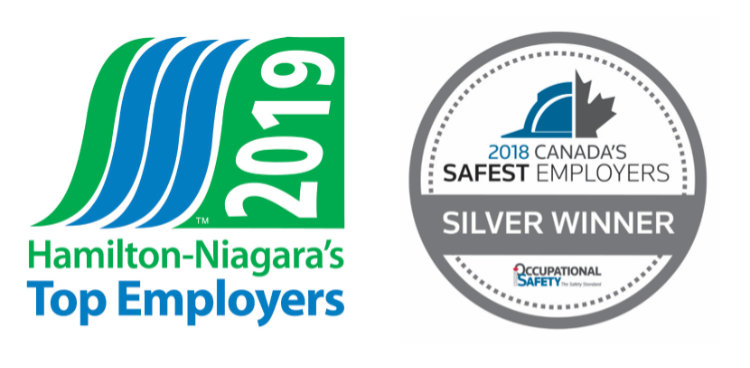 2018 Canada's Safest Employers Silver Winner